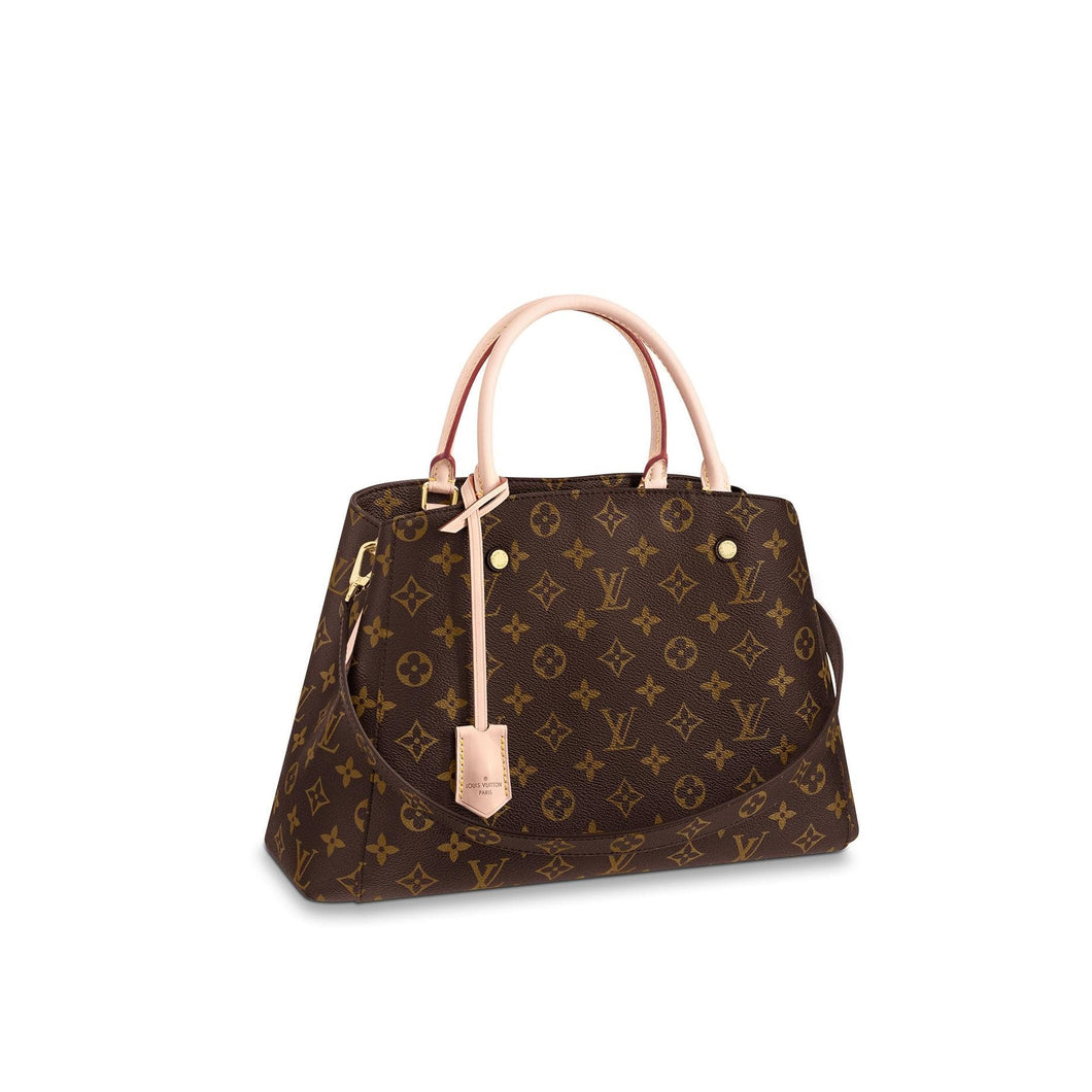 Montaigne MM Tote Bag Monogram Canvas