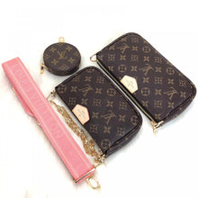 Load image into Gallery viewer, Multi Pochette Monogram Canvas Pink Accessories