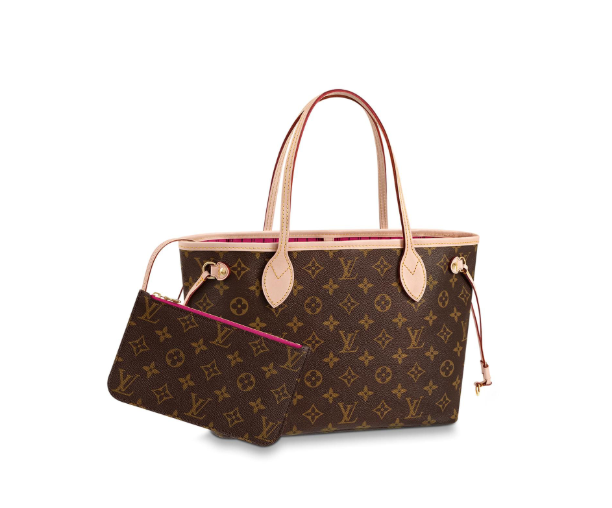 Neverfull PM Shoulder Bag Monogram Canvas
