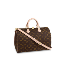 Load image into Gallery viewer, Speedy Bandouliere 35 Tote Bag Monogram Canvas Leather