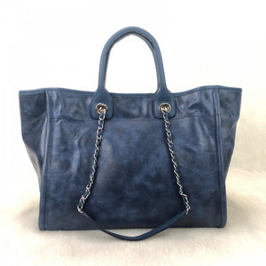 Glazed Deauville Tote Bag Blue