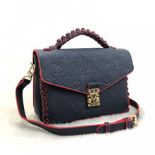 Load image into Gallery viewer, Pochette Metis Special Crossbody Bag Monogram Empreinte Leather Navy Blue