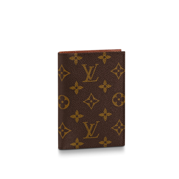Passport Cover Monogram Canvas