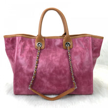 Load image into Gallery viewer, Glazed Deauville Tote Bag Pink