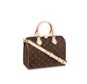 Speedy Bandouliere 30 Tote Bag Monogram Canvas Leather