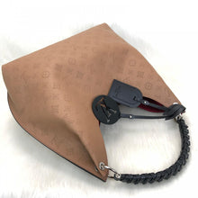 Load image into Gallery viewer, Mahina Leather Carmel Hobo Bag Brown
