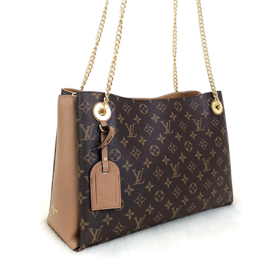 Surene MM Monogram Brown