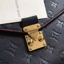 Load image into Gallery viewer, Pochette Metis Crossbody Bag Monogram Empreinte Leather Navy Blue