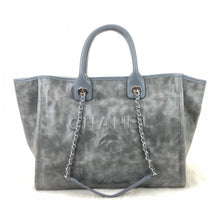 Load image into Gallery viewer, Glazed Deauville Tote Bag Smoke