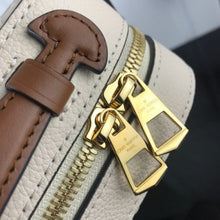 Load image into Gallery viewer, Saintonge Monogram Empreinte Cross Body Cream Leather