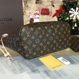 Neverfull MM Shoulder Bag Monogram Canvas