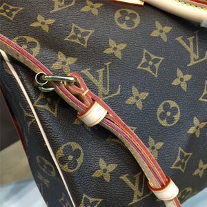 Speedy Bandouliere 35 Tote Bag Monogram Canvas Leather