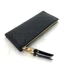 Load image into Gallery viewer, Adele Wallet Monogram Empreinte Black