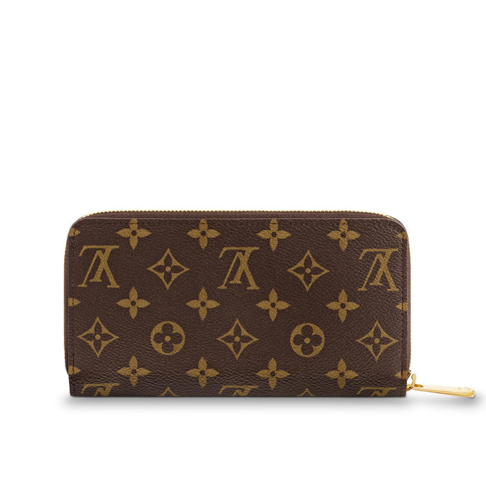 Zippy Wallet Monogram Canvas Long