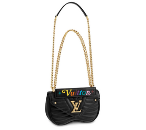 Wave Chain Bag Black