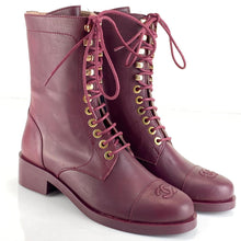 Load image into Gallery viewer, Chanel Lace-Up Boots Women