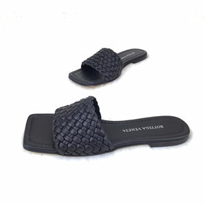 Woven Sandals Genuine Leather