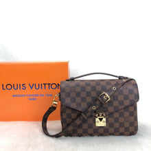Load image into Gallery viewer, Pochette Metis Crossbody Bag Canvas Damier Ebene