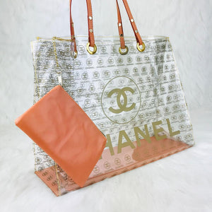 Pvc Beach Bags CH Brown