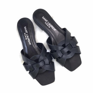 Tribute Flat Sandals Black