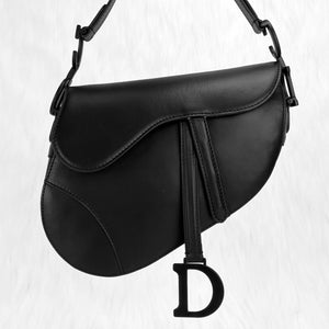 Christian Dior Saddle Calfskin Bag
