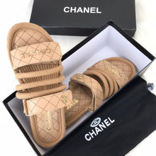 Load image into Gallery viewer, CH Trend Velcro Sandals Cream