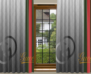 New 2PCS Curtain GC