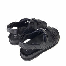 Load image into Gallery viewer, Dad Sandals Black