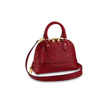 Load image into Gallery viewer, Alma BB Empreinte Tote Bag Red