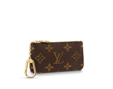 Load image into Gallery viewer, Key Pouch Monogram Canvas