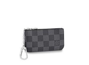 Key Pouch Damier Graphite Canvas
