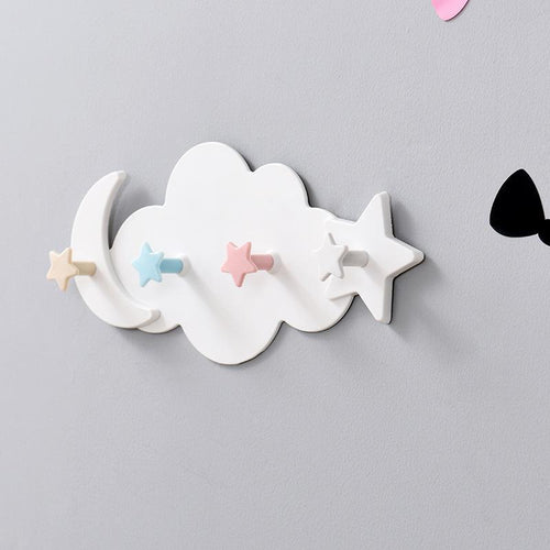 Creative Star Moon Clothes Hooks