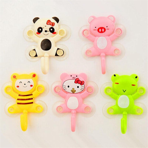 Cute Animal Suction  Rack Hook