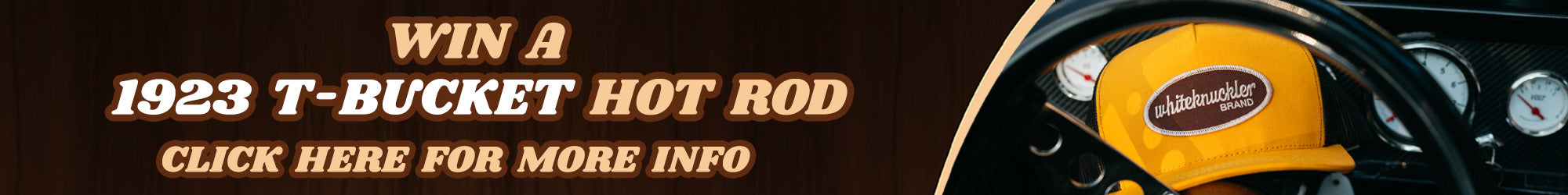 Hot Rod Giveaway!