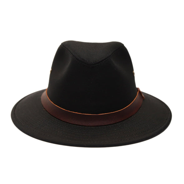 Wayward Tribly Hat - Stovepipe Black