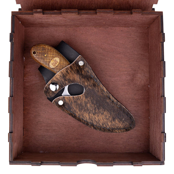 Brindle Hide Convertible II - 7 Inch