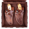 Buffalo Chestnut Father & Son Set (Optional Box) - 7 Inch