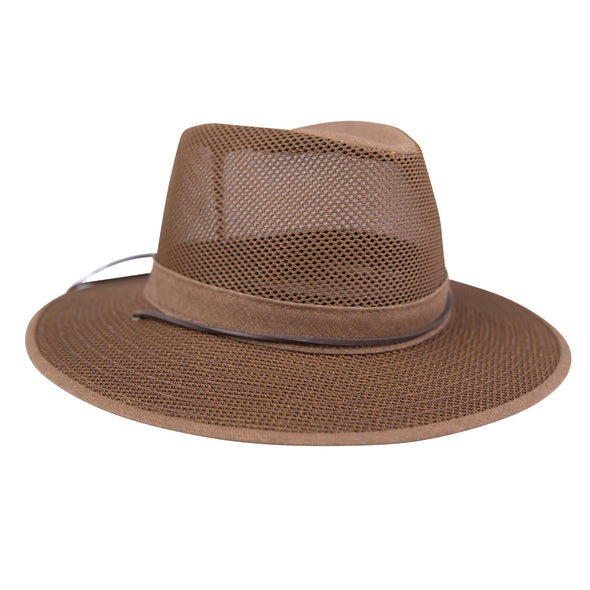 Warm Weather Highwayman Hat - Golden Brown