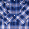 Blue Haven Cotton Plaid Shirt