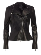 Load image into Gallery viewer, Leather Biker Jacket