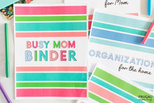 Load image into Gallery viewer, The Busy Mom Binder | Back to School Sale!