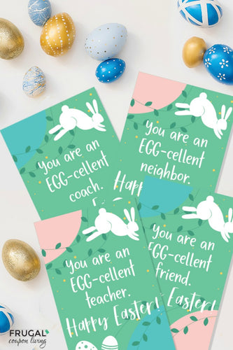 Egg-Cellent Teacher Gift Tag