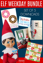 Load image into Gallery viewer, Elf Weekday Bundle - Set of 5