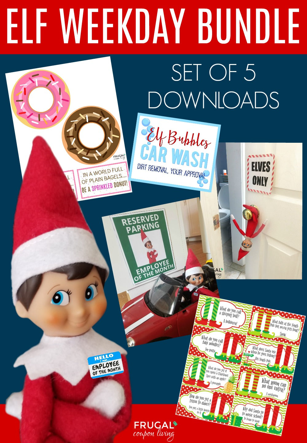 Elf Weekday Bundle - Set of 5
