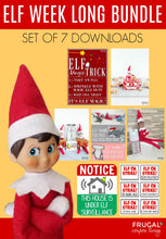 Load image into Gallery viewer, Elf Week Long Bundle - Set of 7 (13-days)