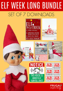 Elf Week Long Bundle - Set of 7 (13-days)