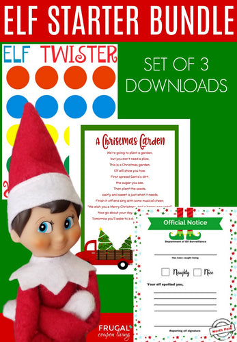 Elf Starter Bundle - Set of 3 (4-days)