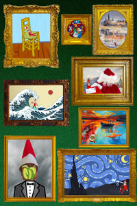 2021 Release! Elf Museum Paintings Art Gallery