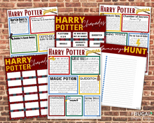 Load image into Gallery viewer, Harry Potter Party Games