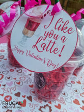 Load image into Gallery viewer, I Like You a Latte Teacher Gift Tag